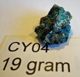 Chrysocolla ruw CY04