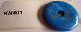 Donuts Lapis Lazuli doorsnee 4 cm