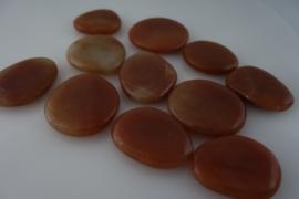 Massage en knuffel steen  Goldstone