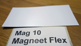 Flexibele magneet  13.5 cm x 6.5 cm
