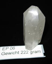 Bergkristal punt 222 gram