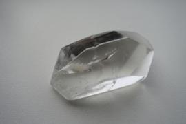 Bergkristal gefac geslepen 5 cm