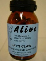 Cat's Claw 400 mg    80 capsules