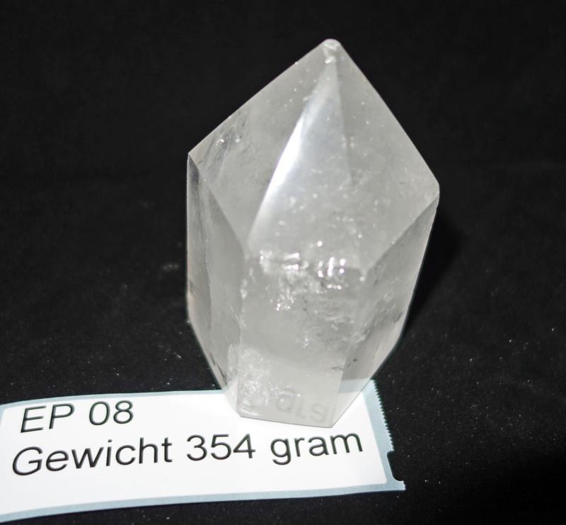 Bergkristal punt 354  gram