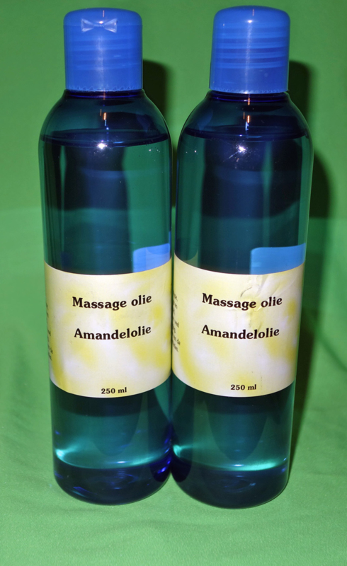 Amandel massageolie 250 ml.