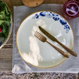 Dinerbord Delfts blauw Bloesem - ø 28 cm