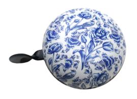Fietsbel Delfts blauw