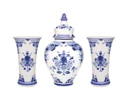 Kaststel - Porceleyne Fles - set van 3