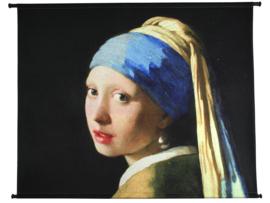 Wanddoek Meisje met de Parel - 146 x 110 cm