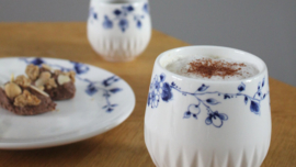 Koffiekopjes Bloesem - Set van 4
