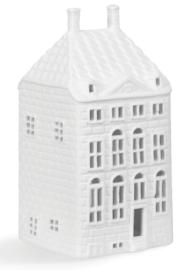 Rembrandthuis Waxinelichthouder - 14 cm