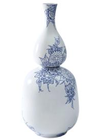 Delfts blauwe vaas - Royal Delft - 38 cm (twee losse vazen)