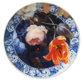 Wandbord Delfts Blauw 'Gouden Eeuw' - Ø 20 cm