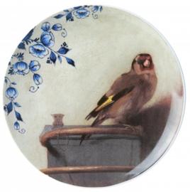 Wandbord 'Gouden Eeuw' Puttertje - Ø 20 cm