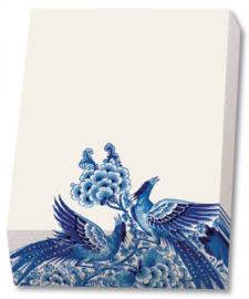 Notitieblok Royal Delft - Delfts Blauwe Siervogels