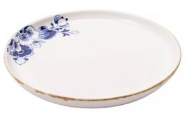 Ontbijtbord Delfts blauw Bloesem - ø 21 cm