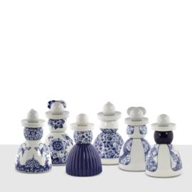 Proud Mary - Pauwen - Royal Delft - 17 cm