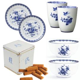 Delfts Blauw Servies - Cadeaupakket Rijksmuseum
