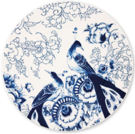 Royal Delft - onderbord - Peacock Symphony - Ø 30,5 cm