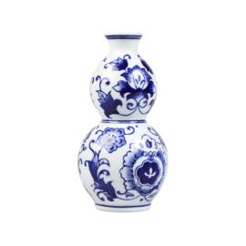 Kleine vaasjes Delfts blauw - set van 3