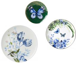 Wandborden botanisch - set van 3