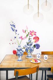 Tulpenvaas Delfts blauw - Medium
