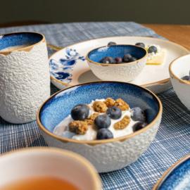 Koffiemok Servies Blauw - 9 cm