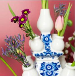 Delfts blauwe Tulpenvaas - Groot - 40 cm