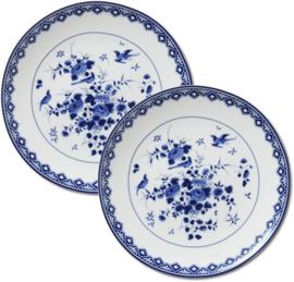 Delfts blauwe borden |  Rijksmuseum | Set van 2