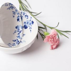 Yoghurt bakje Blauw Vouw - ø 14 cm