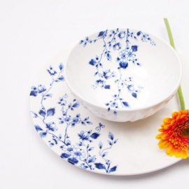 Dinerbord Blauw Vouw - Ø 27 cm