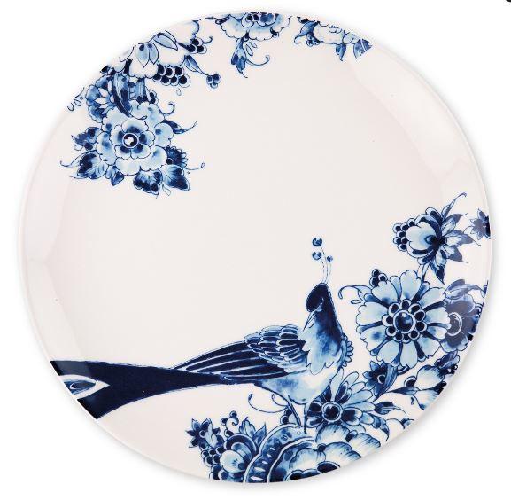 Royal Delft - dinerbord- Peacock Symphony - Ø 26 cm