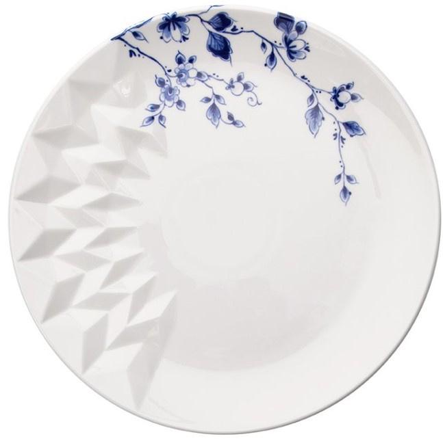 Ontbijtbord Blauw Vouw - Ø 21 cm