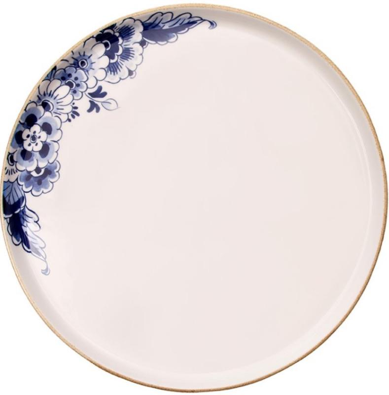 Serveerschaal Delfts blauw Bloesem - ø 34 cm