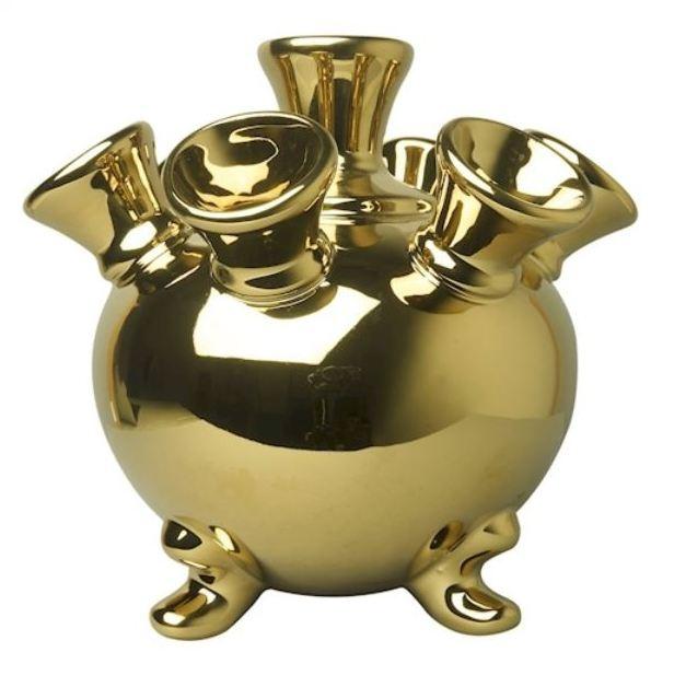 Gouden vaas - 17 cm