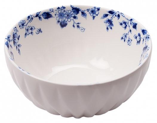 Schaaltje Blauw Vouw - ø 12 cm
