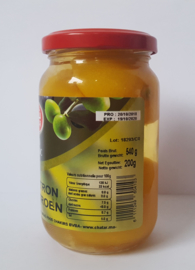 Ingelegde Marokkaanse citroenen