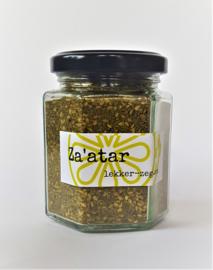 Za'atar groen (in glazen pot)