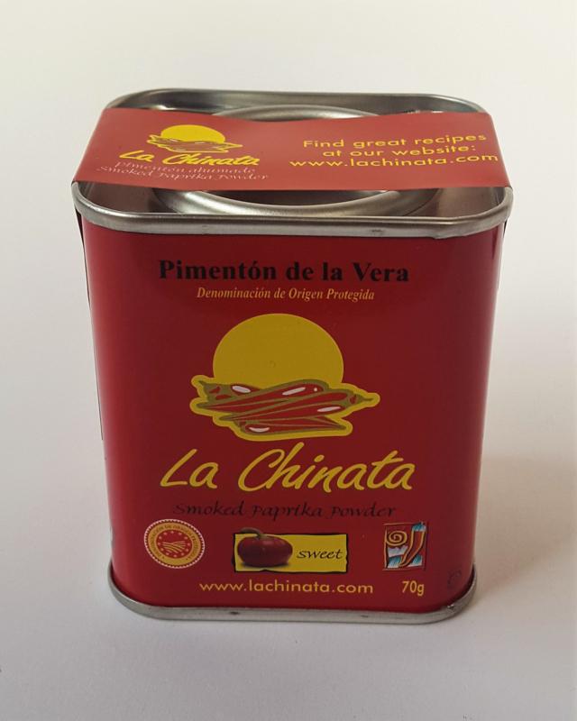 Paprikapoeder, zoet, gerookt (La Chinata)
