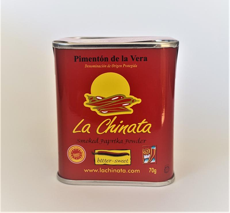 Paprikapoeder, halfzoet, gerookt (La Chinata)
