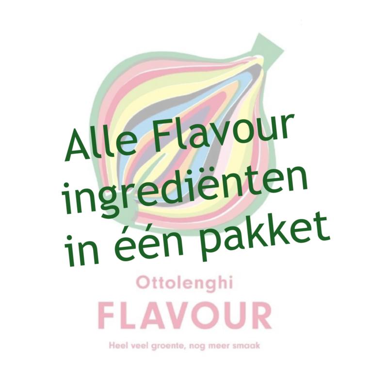 Pakket FLAVOUR excl. boek, vegetarisch