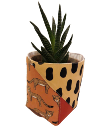 BLOEMPOT COVER CHEETAH