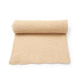 Konges Slojd Pointelle cotton blanket - moonlight