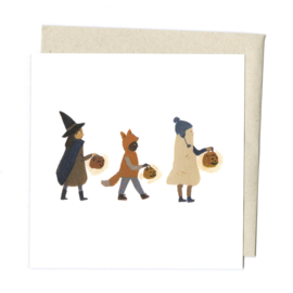 Gemma Koomen 'Halloween Friends' greeting card