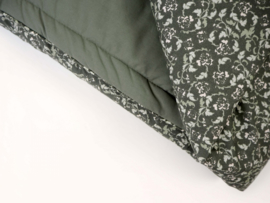 Garbo&Friends Floral Moss Bed Quilt