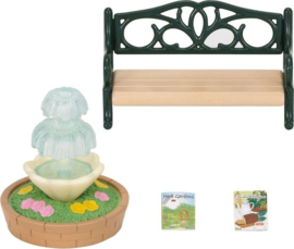 Sylvanian Families Bench & Fountain