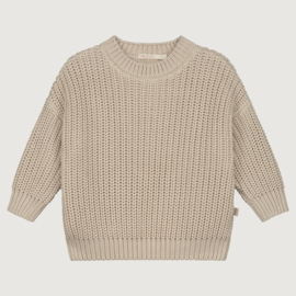 Yuki Originals - Chunky Knitted Sweater - Moon