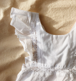Konges Slojd Orchid romper - clear white