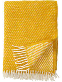 Klippan - Velvet saffron - woven wool throw
