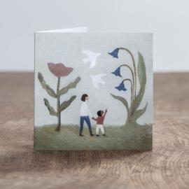 Gemma Koomen 'A NEW DAY' greeting card